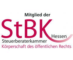 Mitgliedschaft der Steuerberatungskanzlei Grimm in der StBK Hessen - Logo
